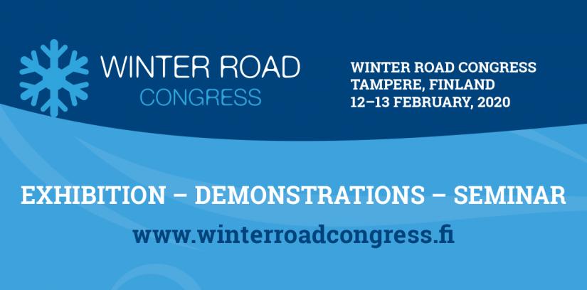 Winter Road Congress Banner